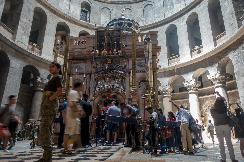 Das Heilige Grab in der Grabeskirche