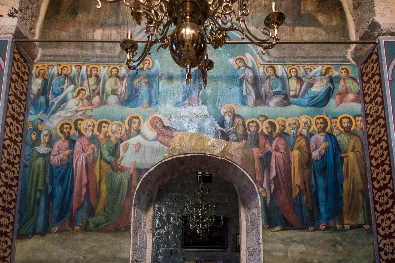Kloster St. Gerasimus in Deir Hajla