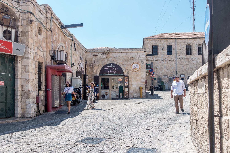 Vor der Davidszitadelle