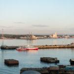 QM2 - Hafen von Southampton