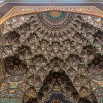 Sultan Qaboos Moschee, Detail Mihrab