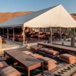 Camp Sama Al Wasil, Restaurant-Zelt