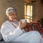 Sheik Sulaiman Said Zahran Al Abri, der Herr von Bait al Safah in Al-Hamra