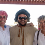 Der Autor mit Fahrer Feisal und Reiseleiterin