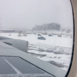 USA, Stewart: Landung
