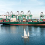 USA, Los Angeles: Containerhafen