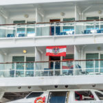 "Coral Princess: Blick auf die ""Norwegian Star"""