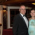 Coral Princess: Der Autor und Miranda McLean, Cruise Director