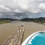 Panamakanal: Ausgangs der Pedro-Miguel-Schleuse