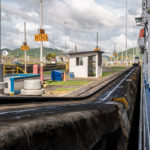 Panamakanal: In der Pedro-Miguel-Schleuse