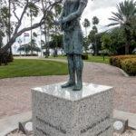 Aruba, Oranjestad: Denkmal f?r Anne Frank im Wilhelmina Park