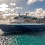 """Aruba, Oranjestad: """"Monarch"""" von Pullmantur, ex """"Monarch of the Seas"""" von Royal Caribbean"""