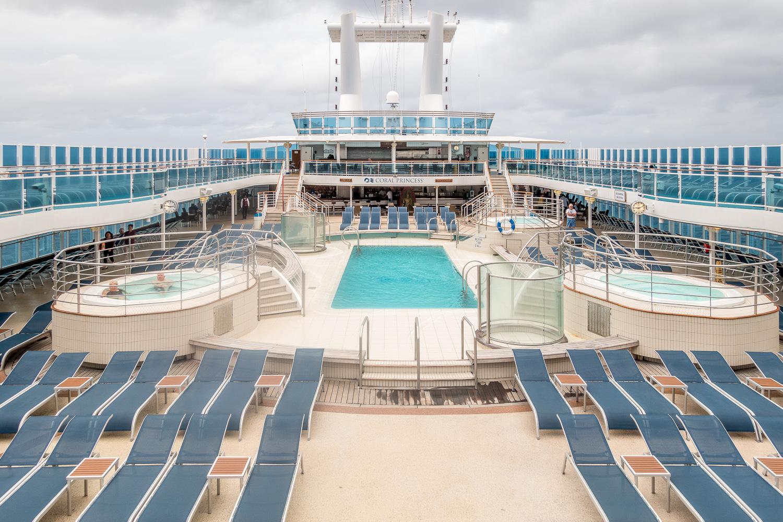 Coral Princess: Pool-Deck