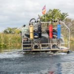 Florida, Everglades: Sumpfboot
