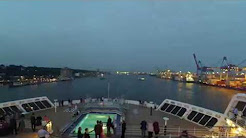 Youtube Timelapse Queen Mary 2 Hamburg