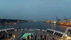 Youtube Timelapse Queen Mary 2 Hamburg