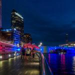 USA, Tampa. Riverwalk