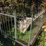 Honduras, Trujillo. Alter Friedhof, Grab des Piraten William Walker
