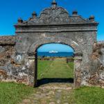 Honduras, Trujillo. Fortaleza de Santa Barbara