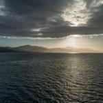 MS Rotterdam, Sonnenuntergang in der Karibik