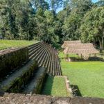 Guatemala, Quirigua. Akropolis