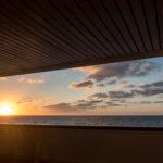 MS Rotterdam, Sonnenuntergang