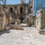 Jerusalem - Äthiopisches Kloster auf dem Dach der Grabeskirche