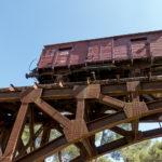 Jerusalem - Ehemaliger Reichsbahnwaggon in der Holocaust-Gedenkstätte Yad Vashem