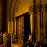 Jerusalem - Grabeskirche vor der Schließzeremonie