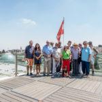 Jerusalem - Die Gruppe auf dem Dach des Österreichischen Hospizes