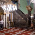 Hebron - Gräber der Patriarchen - islamischer Teil - Minbar gestiftet von Saladin