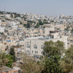 Hebron - Blick auf Machpela (Gräber der Patriarchen)