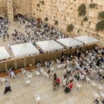 Jerusalem - Blick auf die Klagemauer