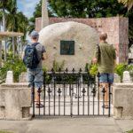 Santiago de Cuba - Friedhof Santa Ifigenia - Grab von Fidel Castro