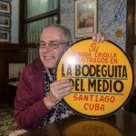Santiago de Cuba - Der Autor in der Bodeguita del Medio