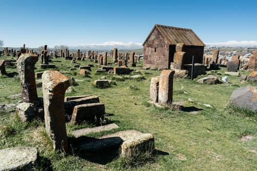 Friedhof in Noraduz