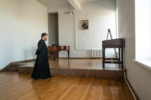 Rektor des Priesterseminars am Sewan-See