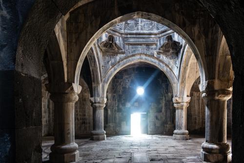 Gavit im Kloster Haghpat
