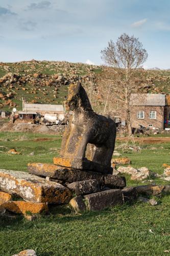 Friedhof der Jesiden in Ria Tasa