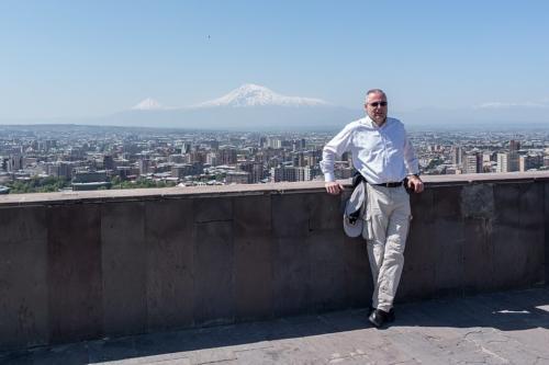 Der Autor in Jerewan