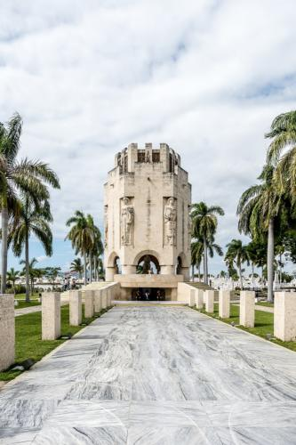 Santiago de Cuba - Friedhof Santa Ifigenia - Grabmal von Jose Marti