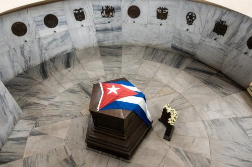 Santiago de Cuba - Friedhof Santa Ifigenia - Grab von Jose Marti