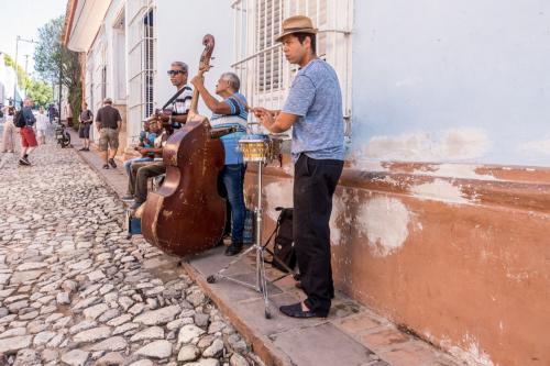 Trinidad - Strassenmusiker