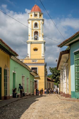 Trinidad - Glockenturm des Convento San Francisco de Asis