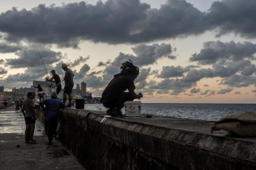 Havanna - Malecon am Abend
