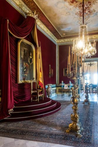 Havanna - Thronsaal im Palast der Generalkapitäne