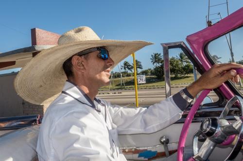 Havanna - Oldtimer-Fahrer
