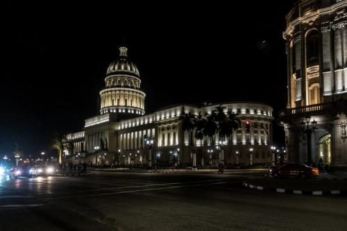Havanna - Capitolio bei Nacht