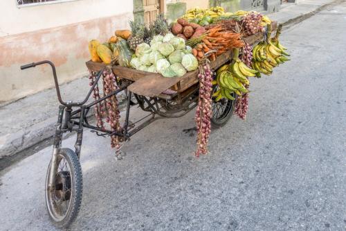 Havanna - Gemüsekarren vor der Hamel-Gasse