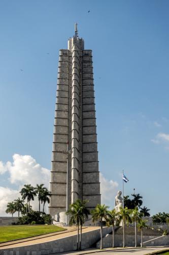 Havanna - José-Martí-Denkmal am Plaza de la Revolucion